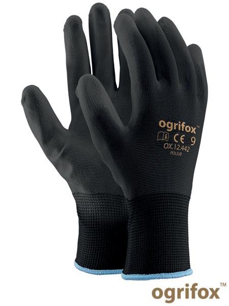 Защитные перчатки изготовлены из нейлона OX-POLIUR