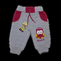 Теплые штаны для девочек, 6,12 месяцев, Турция, фото 1