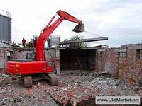 Снос сооружений, разборка строений, построек, зданий 0506388442