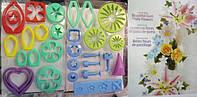 Набор для изготовления Цветов из мастики,29 предметов+журнал (код 2008)