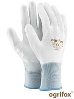 Защитные перчатки изготовлены из нейлона OX-POLIUR WW
