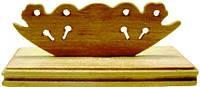 Подставка  под веер деревянная