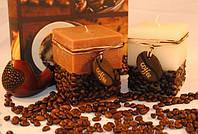 Ароматизированная свеча - куб Кофе