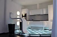 Кухни для футуристических интерьеров под заказ