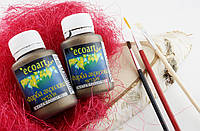 Акриловая краска металлик ЭкоАрт 50 мл Старая бронза(товар при заказе от 500грн)