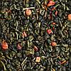 """Чай """"Клубника-сливки"""", листовой, на вес"""