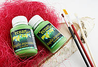 Акриловая художественная краска ЭкоАрт 50 мл Зеленое яблоко