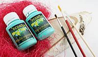 Акриловая художественная краска ЭкоАрт 50 мл Изумрудный (товар при заказе от 200 грн)