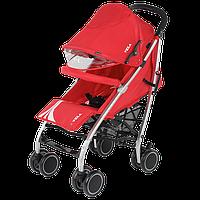 Прогулочная коляска Quatro Vela, красная