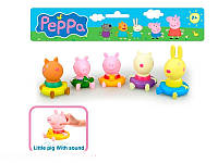 Набор фигурок ― пищалок «Peppa Pig» РР 6039 В Peppa Pig