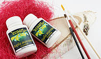 Акриловая художественная краска ЭкоАрт 50 мл Белый (товар при заказе от 200 грн)