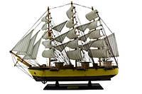 Корабль (Парусник) из дерева  580х480х100 мм