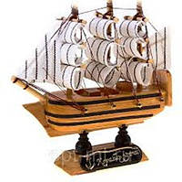 Корабль из дерева (Деревянные корабль) 230х230х55