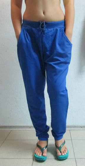 db6f469b6245 Женские спортивные штаны ADIDAS (811) ярко-синие код 066 Б, цена 550 ...