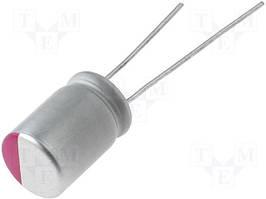 Конденсатор электролитический полимерный 470uF 6,3V 8X8 mm