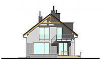 MS139. Дом с мансардой и гаражом