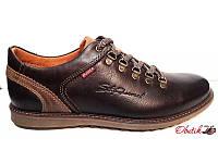 Туфли мужские Bumer кожа натуральная коричневые Bu0003