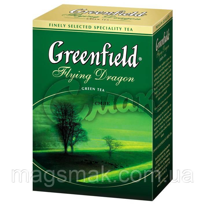 Чай Greenfield Flyin Dragon (Зеленый), листовой, 100 г.