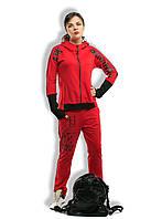 """Женский стильный спортивный костюм до больших размеров 1-353 """"ANK ORIGINALS"""" в расцветках"""