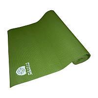 Коврик для йоги POWER SYSTEM  FITNESS-YOGA MAT (зеленый)