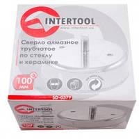 Коронка трубчатая по стеклу и керамике 100 мм. INTERTOOL SD-0379