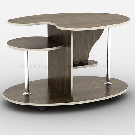 Журнальный стол столик трансформер Тиса / Tisa Нептун (АКМ) из ДСП, фото 2