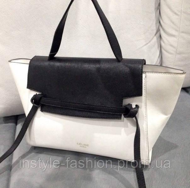 Сумка Celine черно-белая  купить недорого копия продажа, цена в ... a773451b959