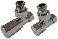 Комплект клапанов ELEGANT угловой хром