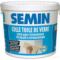 Клей для стеклообоев Semin (Семин) COLLE TDV ведро 10 кг., фото 1