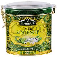 Чай «ТяньШань» Soursop (Саусеп), ж/б, листовой, 70 г.