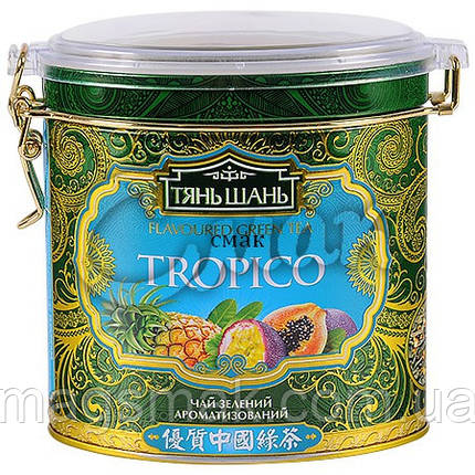 Чай «ТяньШань» Tropico (Тропик), ж/б, листовой, 70 г., фото 2