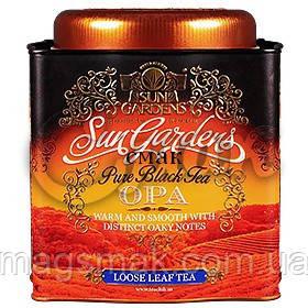 Подарочный чай «Sun Gardens» OPA, ж/б, 150 г.