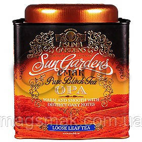 Подарочный чай «Sun Gardens» OPA, ж/б, 150 г., фото 2