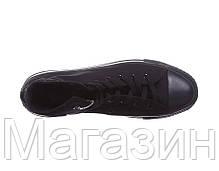 Мужские кеды Converse All Star высокие Конверс Олл Стар черные, фото 3