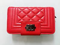 Кошелек Chanel красный