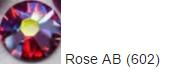 Стразы SWAROVSKI Rose AB (40 шт/уп)