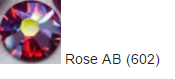 Стрази SWAROVSKI Rose AB (40 шт/уп)