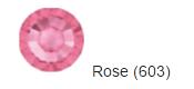 Стрази SWAROVSKI Rose (40 шт/уп)