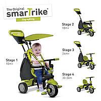 Дитячий велосипед Smart Trike Glow 4 в 1 зелений, фото 1