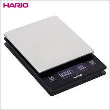 Весы для приготовления кофе Hario с таймером и металлической платформой