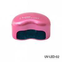 Ультрафиолетовая светодиодная LED лампа для сушки ногтей Lady Victory