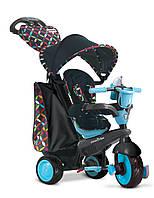 Детский велосипед Smart Trike Boutigue 4 в 1 черно-синий, фото 1
