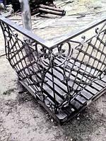Эксклюзивные кованные перила для балконов на заказ