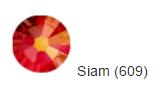 Стрази SWAROVSKI Siam (40 шт/уп)