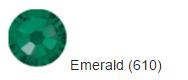 Стрази SWAROVSKI Emerald (40 шт/уп)