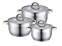 Комплект посуды 6пр/2,1л/2,9л/3,9л/ PETERHOF 15772ph