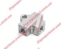 Тройник тормозных трубок алюминиевый 2101 2102 2103 2104 2105 2106 2107 (2101-3506091)