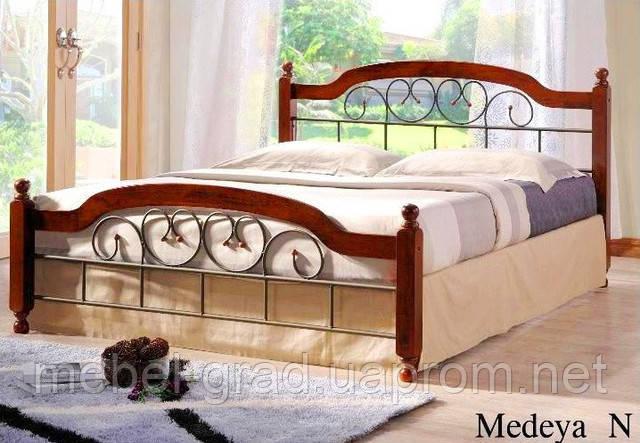 Двоспальне ліжко Medeya / Медея Onder metal 160х200