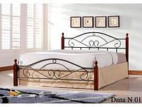 Двухспальная кровать Dana / Дана Onder metal