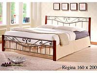 Двухспальная кровать Regina / Регина Onder metal 160х200